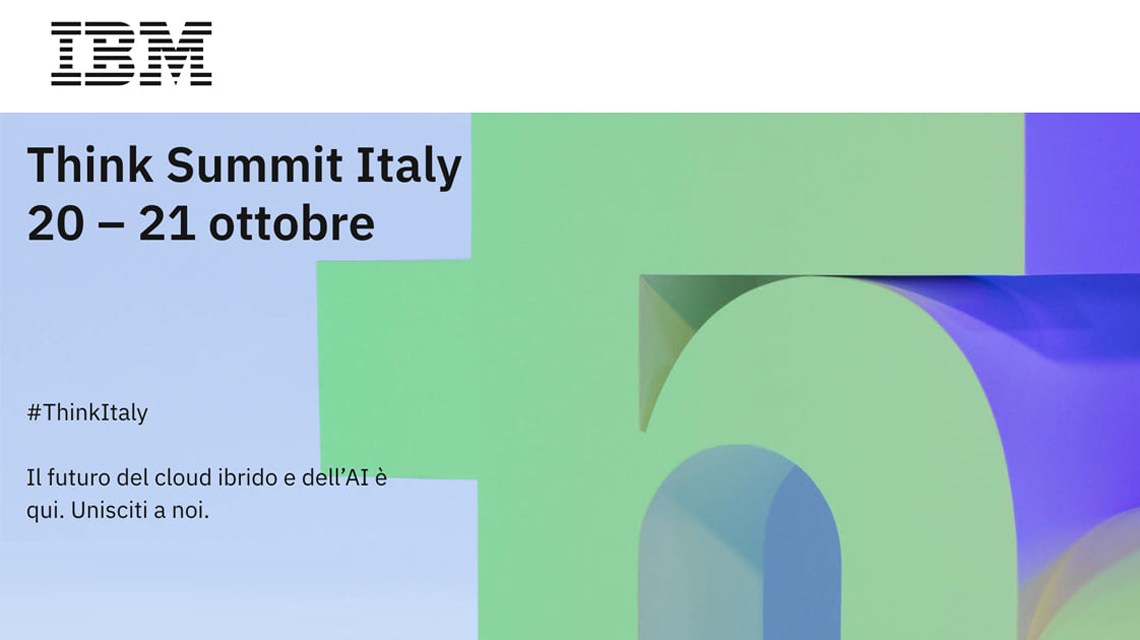 Primeur will be at Think Summit Italy 20-21 October